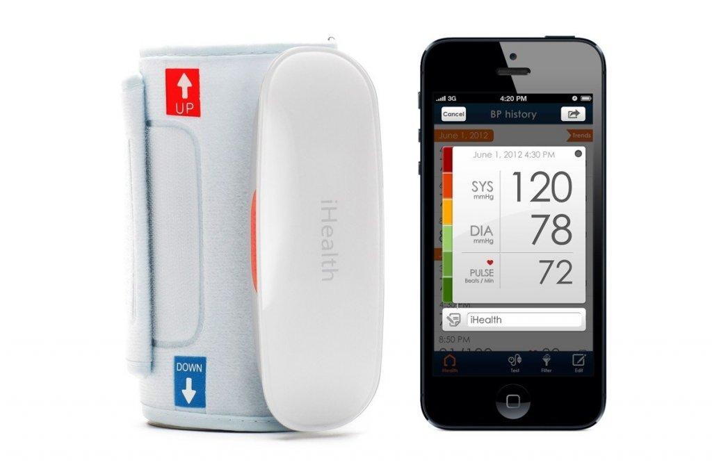 Следите за своим здоровьем с помощью современных гаджетов! Беcпроводной тонометр iHealth Wireless.