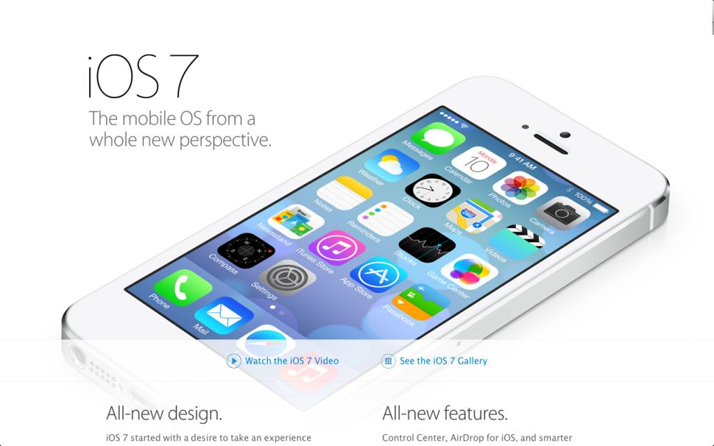 Обзор iOS 7.