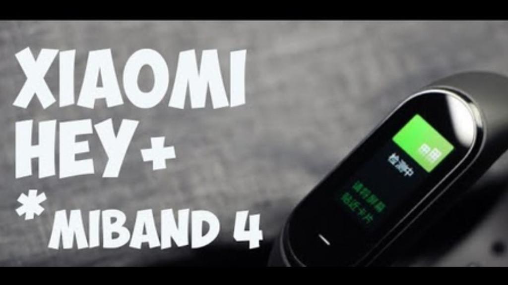 Xiaomi Hey Plus (Xiaomi Mi Band 4) в наличии