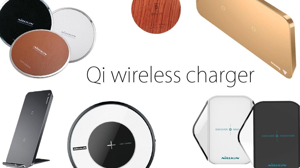 Большое поступление беспроводных зарядных устройств для Apple iPhone.