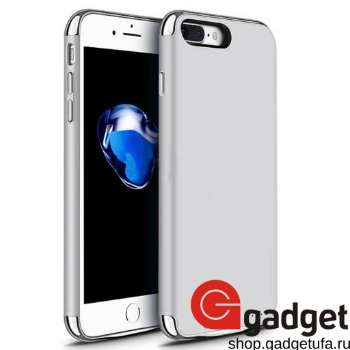 Чехол-аккумулятор JOYROOM для iPhone 7/8 Plus 3500 mAh серебристый