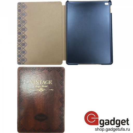 "Чехол Mosso для iPad Air 2 Premium Leather Case ""Vintage"" Коричневый"