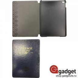 "Чехол Mosso для iPad Air 2 Premium Leather Case ""Vintage"" Синий купить в Уфе"