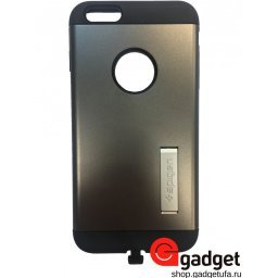 Чехол SGP iPhone 6 Plus Slim Armor Volt GunMetal купить в Уфе