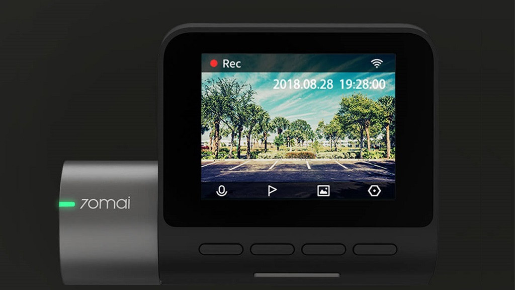 Обновленный автомобильный видеорегистратор 70 Meters Smart Recorder Pro